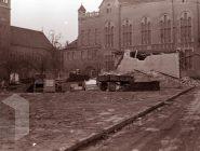 Honvéd utca bontás 1974