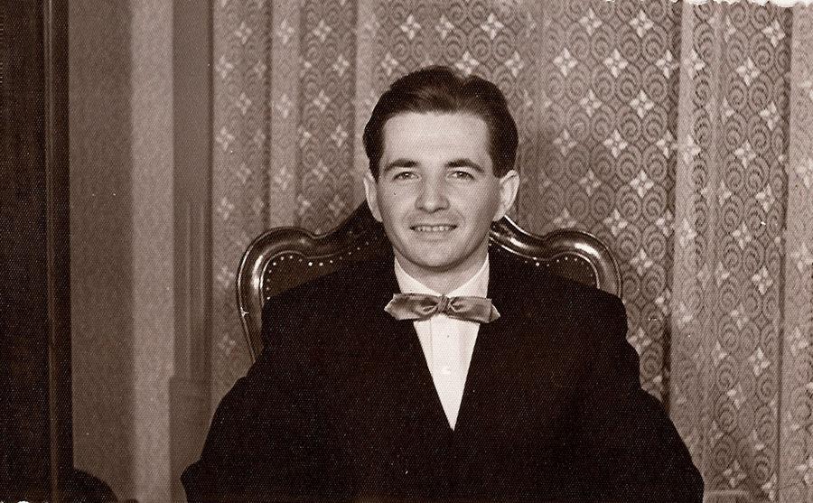 Bánky József 1959-ben. (Forrás: Bánky József magángyűjteménye)