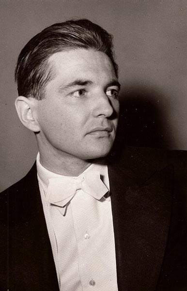 Bánky József 1959/60. (Forrás: Bánky József magángyűjteménye)
