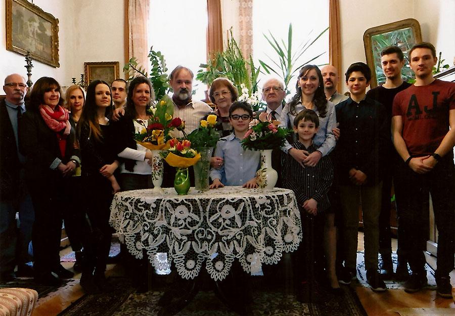 A Bánky család (Forrás: Bánky József magángyűjteménye)